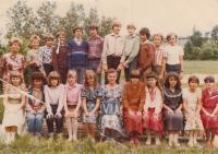 David Kabzan, 1983, třetí zleva nahoře