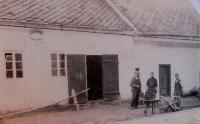A house and a forge of the Schreiber family in Vranová Lhota