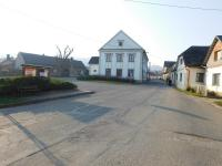 A square in Vranová Lhota, where a German unit lined up all the men in the village for execution