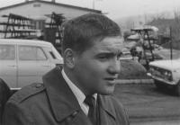 Vilém Kodíček v den přísahy, 3. května 1980