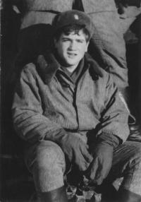Vilém Kodíček v zimě 1981