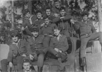 Vojáci čety týlového zabezpečení, 1980