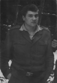 Vilém Kodíček pár dní před civilem, 1982