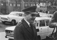 Na opušťáku po přísaze, květen 1980