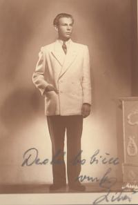 Liboš Buben v druhé polovině 40. let