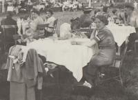 Velká Chuchle, rodinný výlet 1937