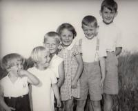 Hana s příbuzými 1937 Horní Čermná