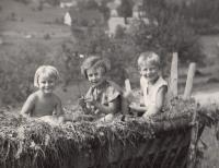 Hana a Eva prázdniny 1937 Horní Čermná