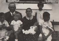 Čermná dovolená 1934 Hana mimino