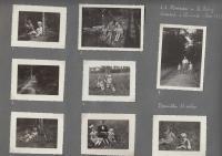 stránka z fotoalba - Hana se sestrou v roce 1938