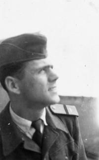 Beránek Jiří, 1955, in the army