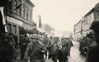 1945 - příchod Američanů do Janovic