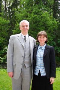 S manželkou Alicí, rok 2004