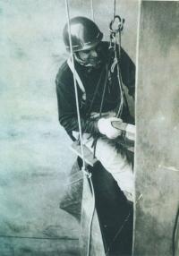 Jan Urban, toho času přidavač, 1985