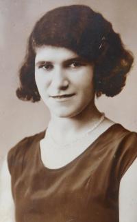 Maminka Emilie Fischerová (Grünbaumová)