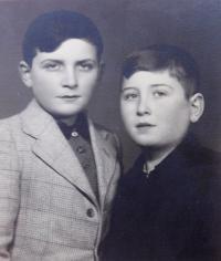Jiří Fischer s bratrancem Josefem Fischerem