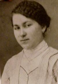 Mother of Františka Pudilová, who died tragically in 1938