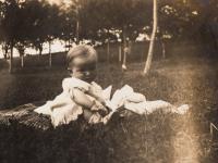 S rodiči na Smíchově - 1927 III.