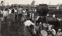 """Natáčení """"Akce Kalimantan"""" roku 1961 v Indonésii"""