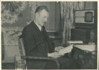 Tatínek pamětnice Vladimír Hnitka, Praha, 1944