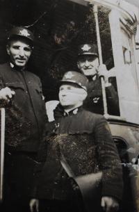 Jitky otec v práci tramvajáka