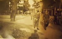Američtí vojáci v Plzni, 1945