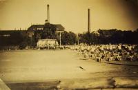 Sokolské veřejné cvičení, 1948