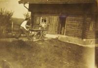 Na chatě v Nové Huti, 1949