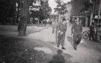 Američtí vojáci, Plzeň, květen 1945