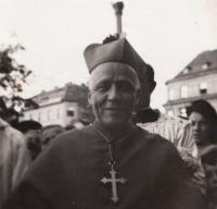 Kardinál Beran v Plzni, 4.10.1947