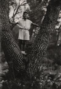 Ludvík Armbruster, Makarska, 1935