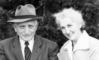 Prarodiče z matčiny strany Jaroslav a Olga Horníčkovi