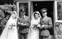 Společná svatba sester Horníčkových, Vlasta si vzala Stanislava Rejthara