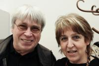 Olga s historikem Jaroslavem Čvančarou