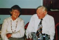 Květoslava Bartoňová s manželem Miloslavem Bartoněm