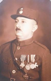 Otec František Axman v čs. legiích v Rusku za 1. světové války