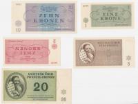 Ghetto Terezín money