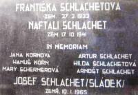 Schlachet Family Memorial