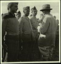 Václav Straka (vpravo) s Edvardem Benešem.