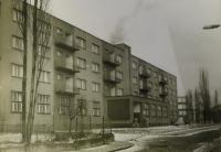 hornické učiliště Dolu Dukla v Dolní Suché / 50. léta