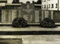 pomník obětem neštěstí v Dole Dukla
