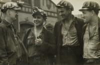 horníci Dolu Dukla / praděpodobně 50. léta