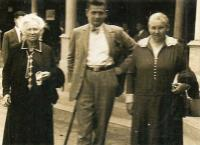 Dezo Simko, first husband