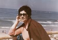 Ruth Beery in Israel, 1968