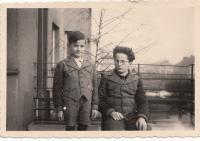 Luděk Svoboda (vlevo) s bratrem