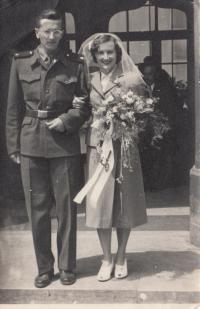 Luděk Svoboda první svatba s knihkupkyní Janou