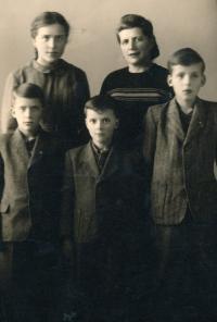 První Vánoce bez tatínka, 1952