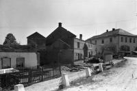 View of the school in May 1945