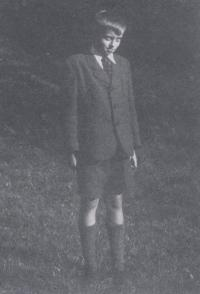 Miloš Trapl in the 1948