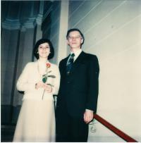 Manželé Medkovi 1979